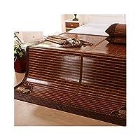 籐のマット、竹の寝具ストローマット夏のマットレスマットレス折りたたみマット (サイズ さいず : 1.8×2.2m)
