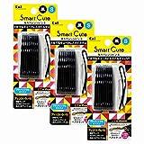 SmartCute(スマートキュート) 強力アレンジピンS (黒) HC3318 【まとめ買い】 セット 3個