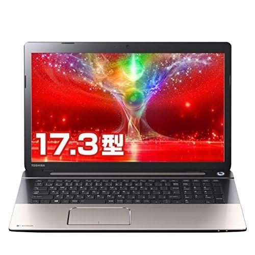 東芝 dynabook TB77/NG 東芝Webオリジナルモデル (Windows 8.1/Officeなし/17.3型/4K出力/Bluetooth/harman/kardon/Photoshop Elements 12/core i7/サテンゴールド) PTB77NG-HUA