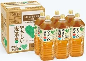 サントリー GREEN DA・KA・RA(グリーンダカラ) お茶 やさしい麦茶 (2L×6本)×2箱