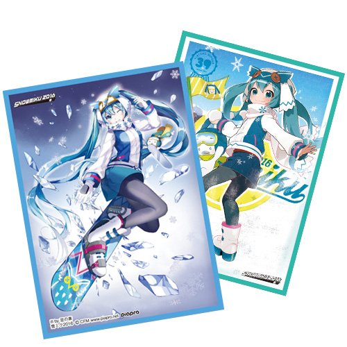 雪ミク きゃらスリーブコレクション マットシリーズ イベント限定 SNOUMIKU2016 初音