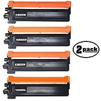 2- Pack交換Brother mfc-9320cnプリンタブラック、シアン、マゼンタ&イエロートナーカートリッジ–互換性Brother tn210bk、tn210C、tn210m & tn210yレーザートナーカートリッジ(Brother tn210)