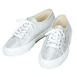 SUPERGA スペルガ 2750 国内正規品 LAMEW ラメ 靴 シューズ デッキシューズ 男女兼用 メンズ レディース シルバー S001820 031 39(25cm)並行輸入品