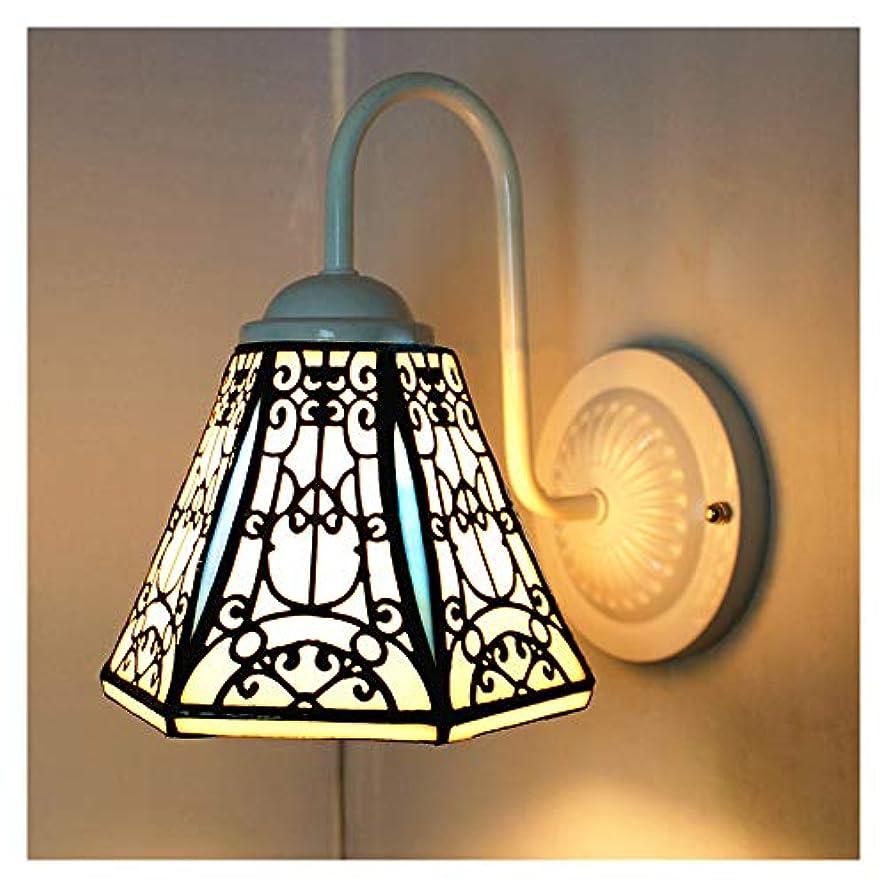剣オーバーラン星屋内の壁ランプ、ティファニースタイルの壁灯、ステンドグラスランプシェード樹脂壁光、バスルームミラー、ヘッドライトの照明器具,A