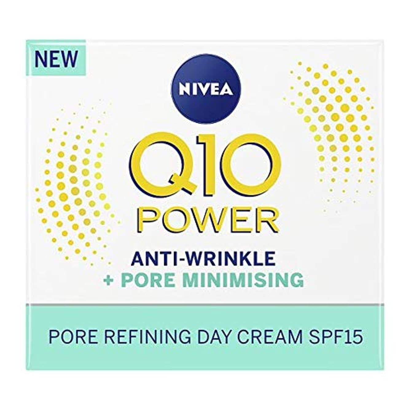 サポートヘッドレスかすれた[Nivea] ニベアQ10パワーポア最小限に50ミリリットル - Nivea Q10 Power Pore Minimising 50Ml [並行輸入品]