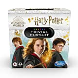 Hasbro Gaming Trivial Pursuit: Wizarding World Harry Potter Edition Compact Trivia Game for 2 or More Players, 600 Trivia Questions, Ages 8 and Up (Amazon Exclusive)
