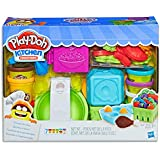 Play Doh - Kitchen Creations - Grocery Goodies - Inc 22 Accessories & 7 Cans of Compound - Ages 3+