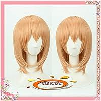 【マッキー】耐熱 コスプレ ウィッグ ご注文はうさぎですか ココア 保登 心愛 ほと ここあ cosplay wig 専用 ネット付
