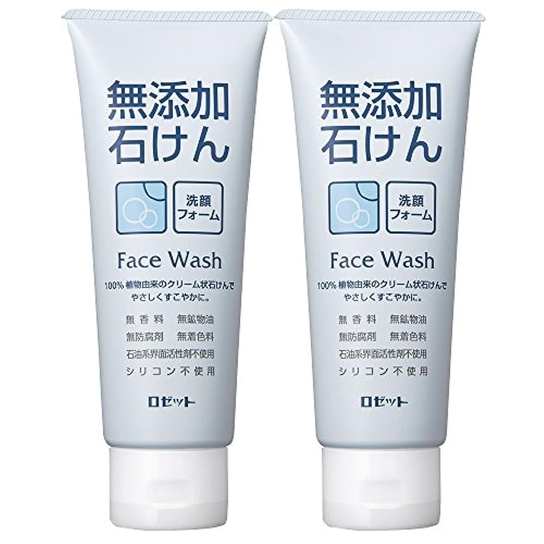 博覧会男らしさスポンジロゼット 無添加石けん 洗顔フォーム 140g×2個パック AZ