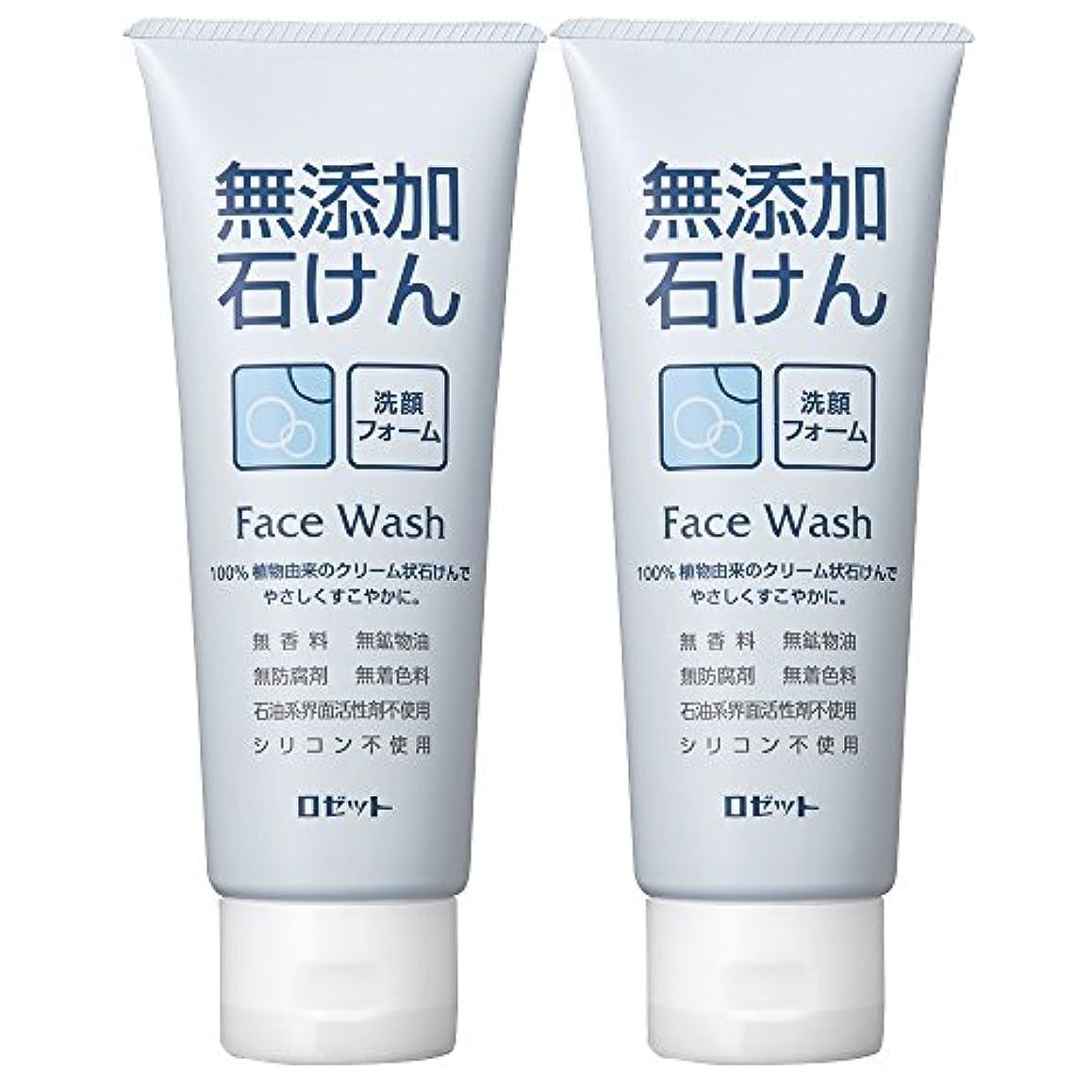 上流の憂慮すべきアシスタントロゼット 無添加石けん 洗顔フォーム 140g×2個パック AZ