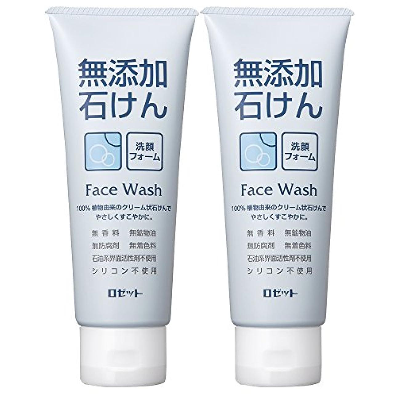 転用ますます悪化させるロゼット 無添加石けん 洗顔フォーム 140g×2個パック AZ