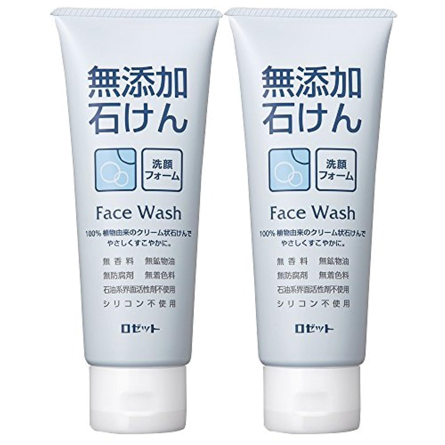 ロゼット 無添加石けん 洗顔フォーム 140g×2個パック AZ