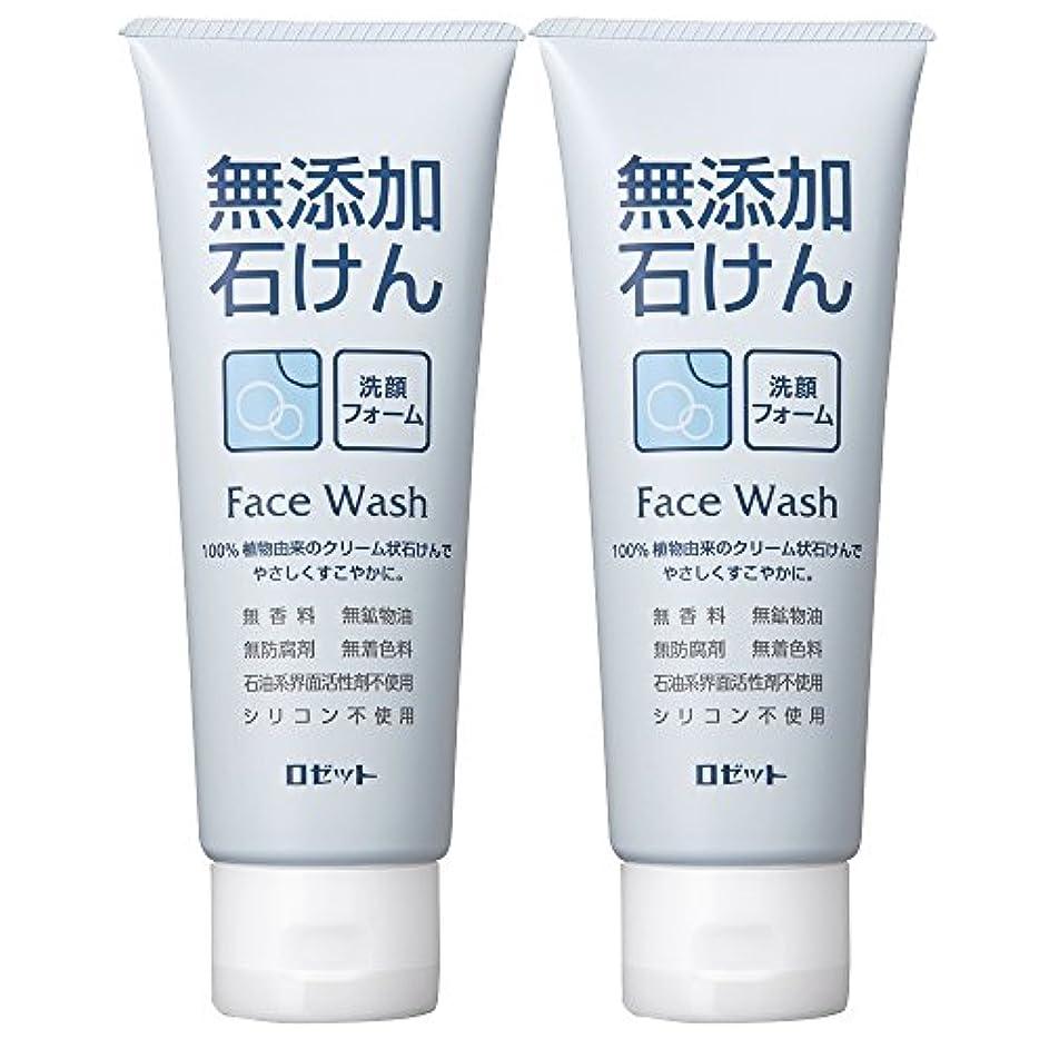 デコレーション採用するロゼット 無添加石けん 洗顔フォーム 140g×2個パック AZ