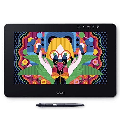 Wacom Wacom Cintiq Pro 13 drawing tablet with screen 13.3 inch Full HD drawing tablet with screen Wacom Propene 2 included Mac Windows compatible DTH-1320/K0