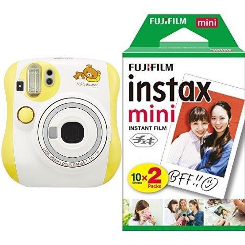 FUJIFILM インスタントカメラ チェキ instax mini 25 リラックマ + フィルムセット