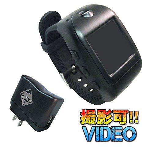 小型カメラ デジタル時計型ビデオカメラ(GOD HAND)G...
