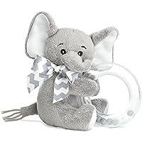 (ベアリントン) Bearington 赤ちゃん リトルスパウト 象のガラガラ 5インチ
