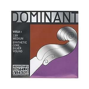 Dominant No.139 ビオラ弦 ペルロン/シルバー巻 C線