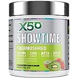 X50 Showtime Thermoshred Fat Burner Strawberry Kiwi 60 serve