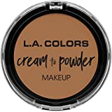 L.A. COLORS Cream To Powder Foundation - Soft Honey (並行輸入品)