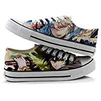 終わりのセラフYuichiro Hyakuya Mikaela Hyakuyaコスプレ靴キャンバス靴スニーカー グリーン