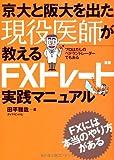 京大と阪大を出た現役医師が教えるFXトレード実践マニュアル
