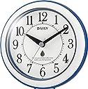 リズム時計 置き 掛け時計 防滴 防塵 アナログ アクアパークDN 青 DAILY ( デイリー ) 4KG711DN04