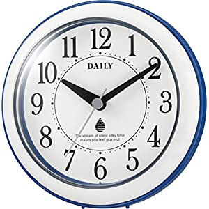 リズム時計 バスクロック 防滴・防塵型 青/白...の関連商品5