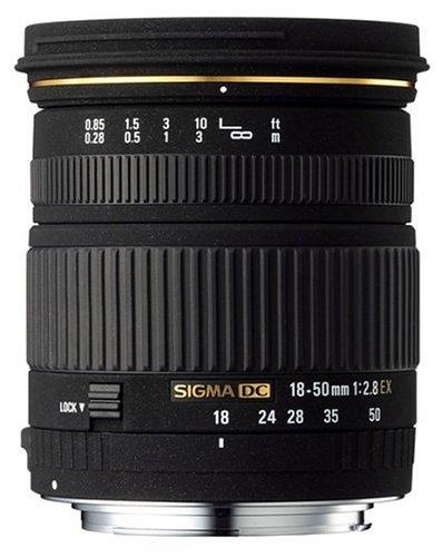 シグマ 18-50mm F2.8 EX DC デジタル専用 キヤノン用