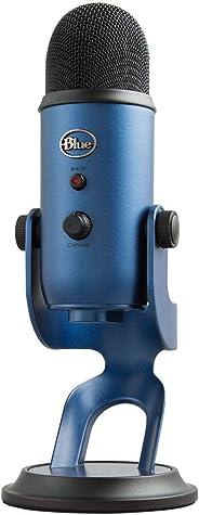 Blue Microphones Yeti USB コンデンサー マイク Midnight Blue イエティ ミッドナイト ブルー BM400MB 国内正規品 2年間メーカー保証