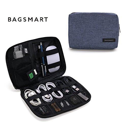 (バッグスマート) BAGSMART ガジェットケース PC周辺機器 収納 ケーブル類整理用品