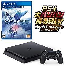 PlayStation 4 ジェット・ブラック 500GB お好きなダウンロードソフト2本セット(配信)+ ACE COMBAT 7: SKIES UNKNOWN セット CUH-2200AB01