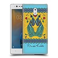 Official Frida Kahlo ペア ピーコック ハードバックケース Nokia 3