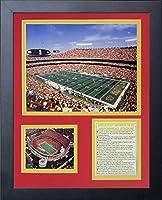 "Legends Never Die "" Arrowhead Stadiumフィールドレベルインチフレーム写真コラージュ、11x 14インチ"
