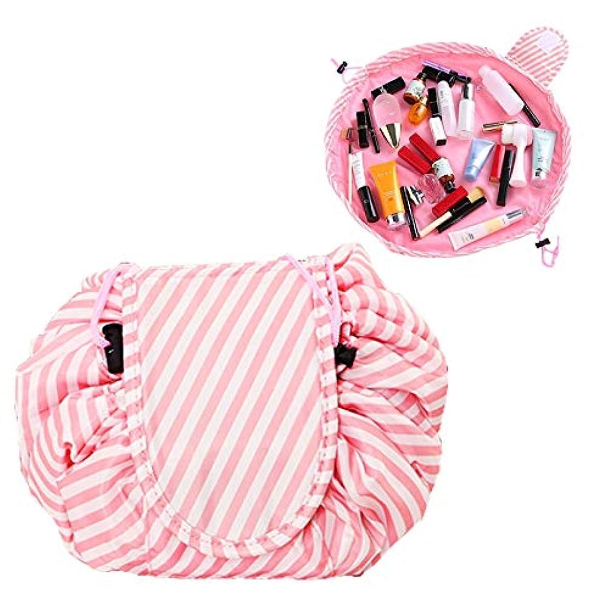 旋回四半期アルカイックBasong 化粧ポーチ 巾着型 コスメポーチ ポーチ メイク収納 巾着バッグ レディース 小物入れ 持ち運び コンパクト