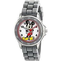 Disney Kids' MK1242 Mickey Mouse Analog Display Analog Quartz Grey Watch