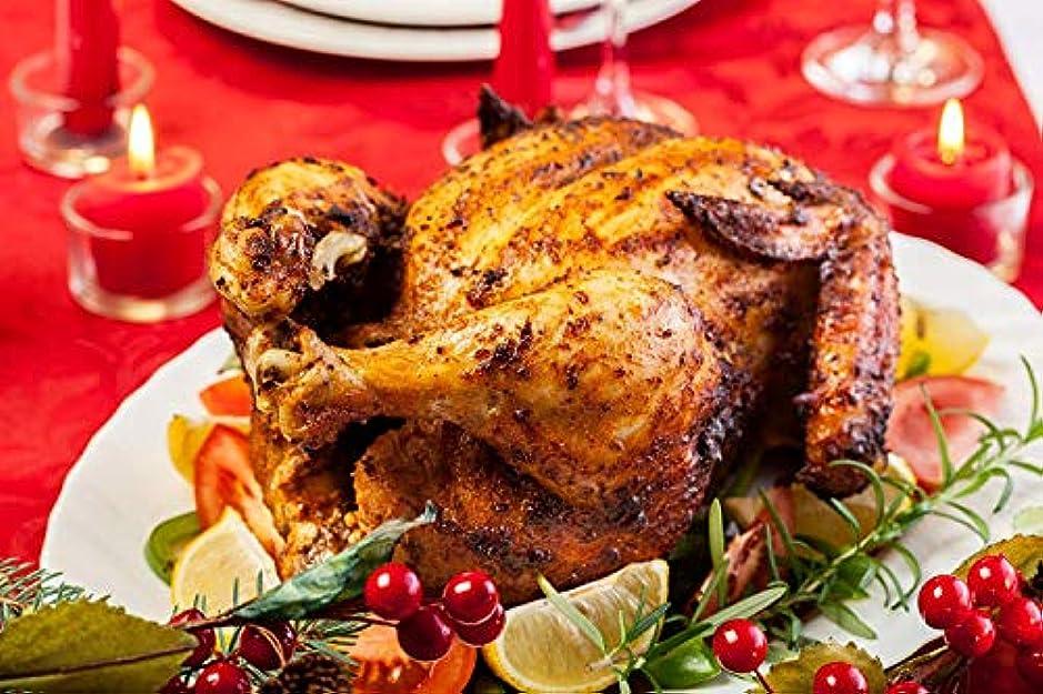 リゾート今日複製鳥肉 丸鳥 ローストチキン 1羽 1.2kg~1.5kg 国産鶏肉 丸鶏 クリスマス ハロウィン パーティー 冷凍