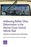Addressing Ballistic Glass Delamination in the Marine Corps Tactical Vehicle Fleet: Implications for Resourcing and Readiness