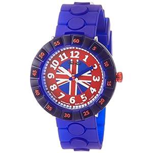 [フリック フラック]FLIK FLAK 腕時計 CHEERS ALFIE (チアーズ・アルフィー) Power Time 7+キッズ 男女兼用 FCSP041 ア・トリップ・トゥ・ロンドン 【正規輸入品】 FCSP041 ボーイズ 【正規輸入品】
