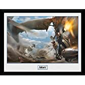 GB eye Fallout 4, Vertibird Door Gunner Framed Photograph, Multi-Colour, 40 x 30 cm by GB Eye Limited