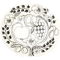 Arabia [ アラビア ] フィンランド北欧食器 ブラックパラティッシ PARATIISI BLACK&WHITE オーバルプレート 皿 Plate oval 25cm 並行輸入品 新生活 [並行輸入品]