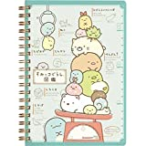 San-X Sumikko Gurashi, things in the corner, ring type B6 size, notebook (13 x 18 cm) a pictorial book version