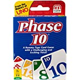 Phase 10 Card Game – Styles May Vary