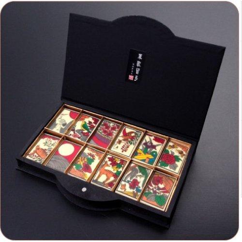 【最高級チョコレート使用】江戸文化の粋を味わうチョコレート『華歌留多(はなかるた)春夏秋冬』