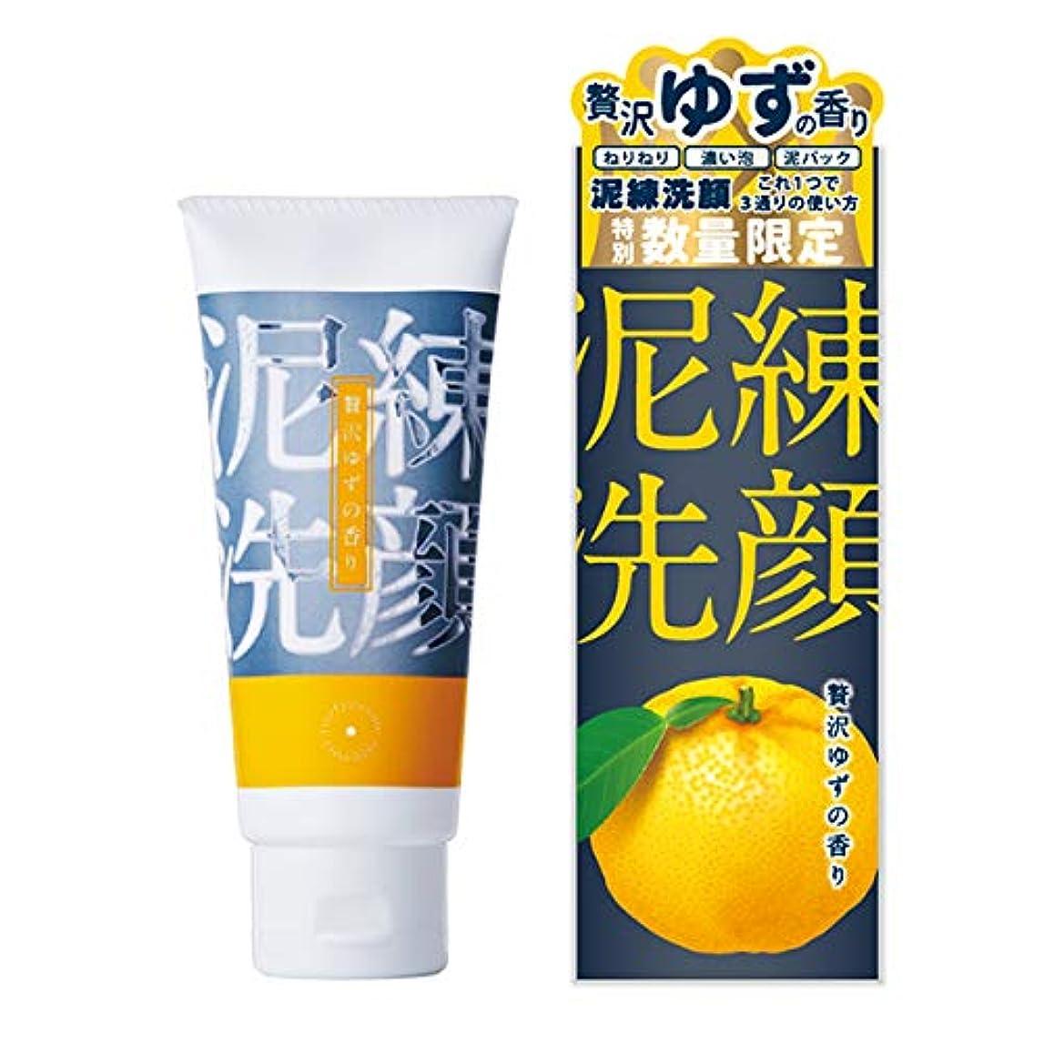 ファンシーループ保全泥練洗顔 贅沢ゆずの香り 120g