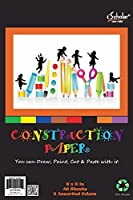 iScholar Construction Paper Tablet Junior Size 6x9 Inches Assorted Colors 48 Sheets per Tablet (30694) [並行輸入品]