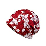 ワッチ ユニセックス帽 ニット帽【春夏】【室内用】 医療用ウィッグに着用も可能 (レッド)