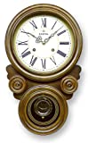 ボンボン振り子だるま時計(ローマ文字) QL687R
