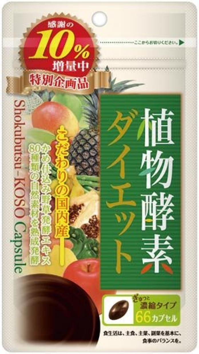 有効化マットくぼみ植物酵素ダイエット 66粒