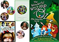 Animated Story Book L. Frank Baum Stories Wonderful Wizard of Oz / Emerald City / Land of / Ozma Cartoons 4 features + Bonus Dorothy Toto Tin Man Cowardly Lion Stickers kids Read & Watch After the Wiz【DVD】 [並行輸入品]